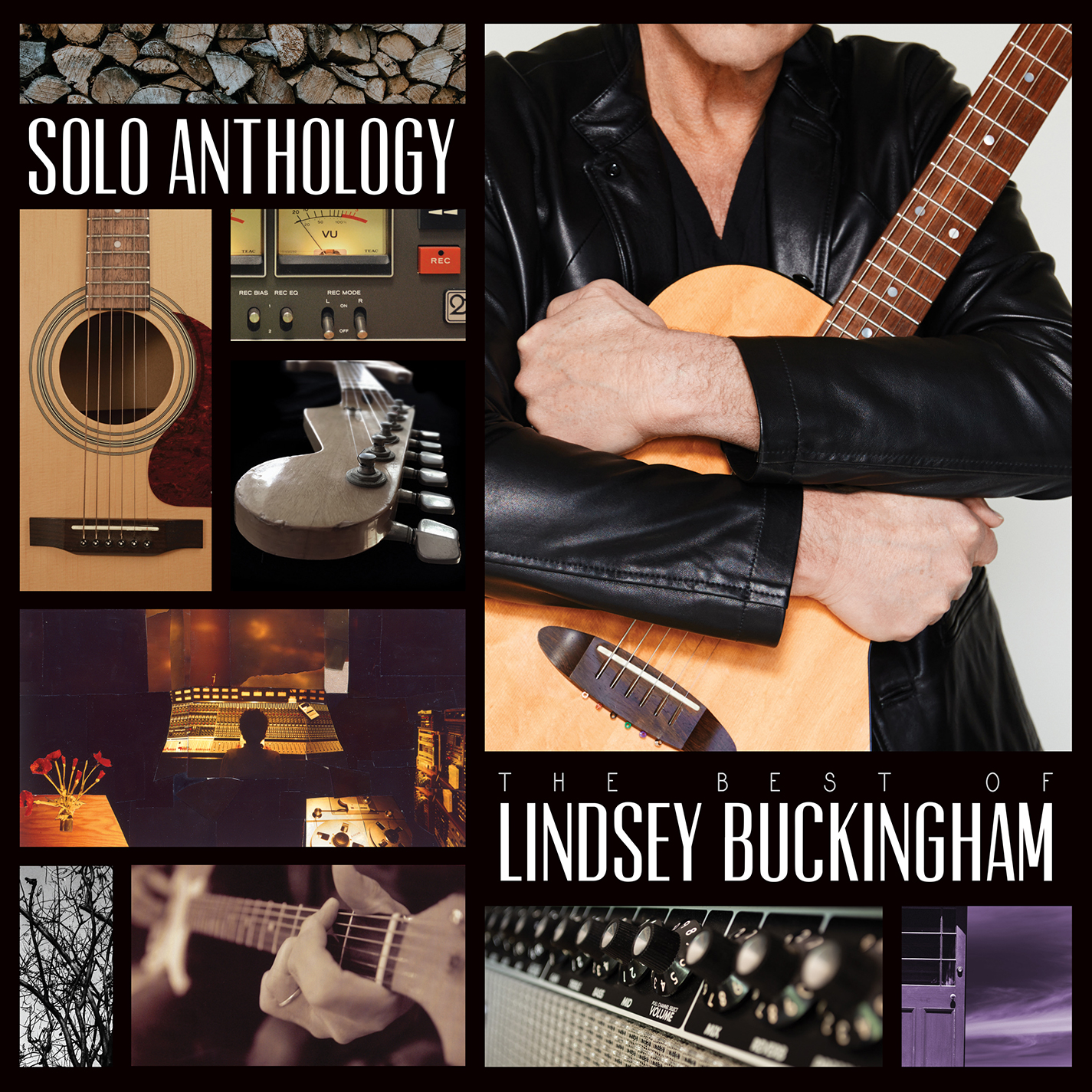 Lindsey Buckingham SOLO ANTHOLOGY Cover