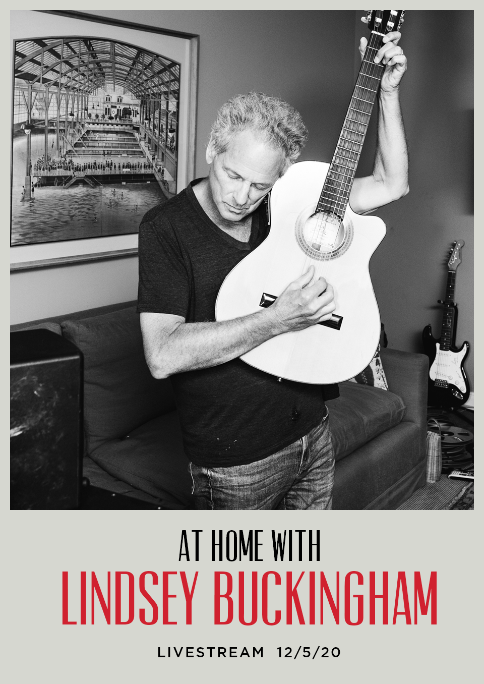 Lindsey Buckingham Intimate Performance Dec 5th flyer