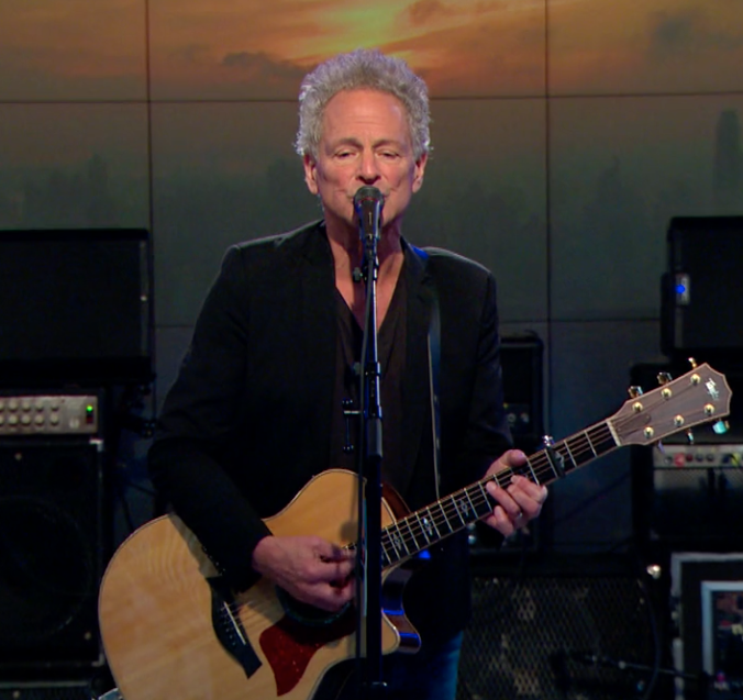 "Lindsey Buckingham performs ""Treason"" on CBS This Morning"